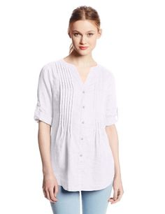 Chaus Sport Women's Pintuck Blouse, Ultra White, Small Chaus http://www.amazon.com/dp/B00IE0WOES/ref=cm_sw_r_pi_dp_V6wMtb1ADFB602QW