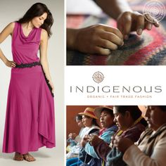 Founded in 1994, INDIGENOUS makes clothing that honors both people and the planet. Our organic + fair trade clothing supports thousands of artisans earning a fair wage and who create our garments in safe working conditions.
