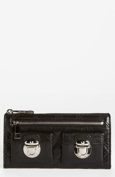 MARC JACOBS 'Zip Deluxe' Leather Wallet available at #Nordstrom