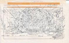 風の谷のナウシカのレイアウトコピー その19/ジブリ 宮崎駿 - ヤフオク! Layout Ghibli Auction page