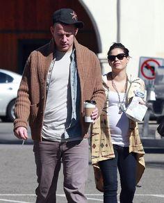 Channing Tatum Photo - Channing Tatum and Jenna Dewan Grab Coffee  with family 2/28/13