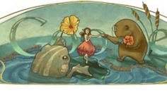 Hans Christian Andersen: Google Doodle Celebrates the Legendary ...