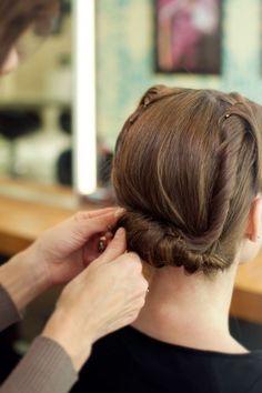 sock hop hairstyles : ... hairstyles - how to create glossy vintage glam waves. (via Bridal Hair