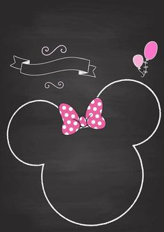 Minie Mouse Party, Minnie Mouse Theme Party, Minnie Mouse Birthday Invitations, Mickey Mouse Art, Mickey Mouse Wallpaper, Minnie Mouse Baby Shower, Minnie Mouse Cake, Mouse Parties, Cupcake Toppers Free