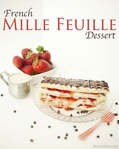 french mille feuille dessert