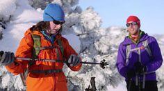 Snowshoeing Tips: Pole Basics