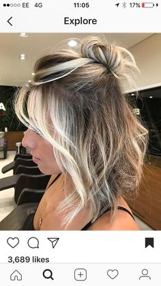 Super cute~ Follow me on Pinterest @ Melissa Riley ~ More modern hairstyle ideas, modern eye makeup ideas, wedding dress collections, skin, makeup and beauty products. transcendent woman