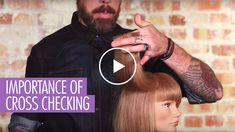 Importance of Cross-Checking Hair Hair Cutting Videos, Hair Cutting Techniques, Cutting Hair, Layered Haircuts Short Hair, Short Hair Cuts, Hair Cut Guide, Medium Hair Styles, Short Hair Styles, Salon Hair Color