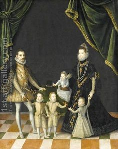 Group Portrait Of The Family Of Carlo Emanuele, Duke Of Savoy (1562 - 1630) (after) Alonso Sanchez Coello | Oil Painting Reproduction | 1st-Art-Gallery.com www.1st-art-gallery.com473 × 600Buscar por imagen (after) Alonso Sanchez Coello:Group Portrait Of The Family Of Carlo Emanuele, Duke Of Savoy (1562 - 1630) HORACIO LENGO - Buscar con Google