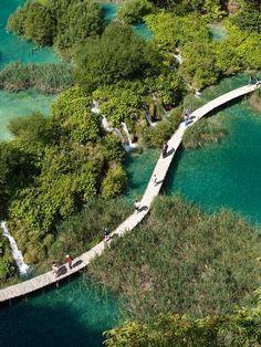 #Daydream: Plitvice Lakes National Park in Croatia