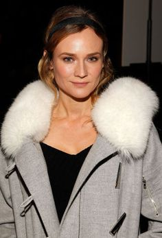 Celebrities at Fashion Week: Diane Kruger At Prabal Gurung