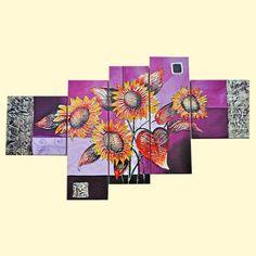 SHOP-PARADISE.COM:  Bilder-set (5-tlg.), 102x60 cm 54,74 €