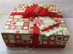 simple gift box + instructions