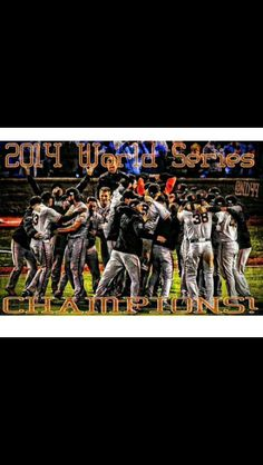San Francisco Giants are World Champions...