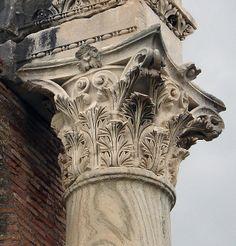 Ostia Antica: Corinthian Capital (Antonine Period) | Flickr – Condivisione di foto!
