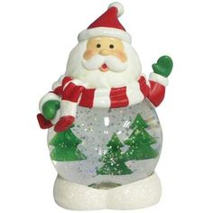 BESTSELLER! Lighted Santa Claus Figurine Globe wi... $29.39