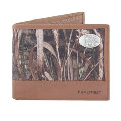 Realtree Memphis Tigers Pass Case Wallet, Men's, Green