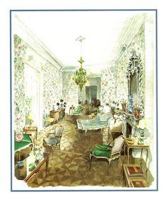 Mark Hampton:  The Manhattan drawing room of Rose Cumming.