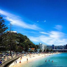 Oriental Bay in Wellington - we cannot wait for summer!