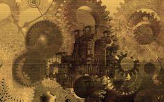Steampunk Wallpaper 1 by ~kingjules71 on deviantART