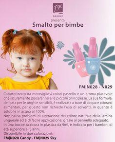 FM PROFUMI e non solo: LINEA BIMBI - SMALTO PER BIMBE FM Kids Aqua Colour... Euro 7,20
