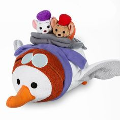 February 2017 Tsum Tsum Subscription Box - The Rescuers featuring Bianca, Bernard, and Orville