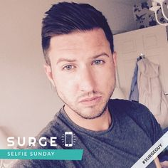 """Meet attractive Ashley 💙 Surge #SelfieSunday Guy 💙  Retail Manager from Birmingham, UK.  """"I'm workaholic! Time with friends and family is where my spare time goes. My type of guy has to just kiss me because he wants too, hug me when I need it, and make me smile daily! :-)""""  For more 🔥 #GayGuys follow Surge on Instagram: https://www.instagram.com/surgeapp/"""