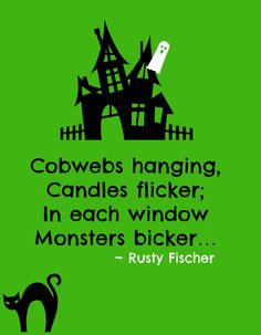 Witches Wacky: 101 Wacky Rhymes for Little Monsters, an Ebook by Rusty Fischer Halloween Rhymes, Halloween Poems, Halloween Projects, Holidays Halloween, Halloween Kids, Happy Halloween, Halloween Decorations, Halloween Costumes, Pumpkin Poem