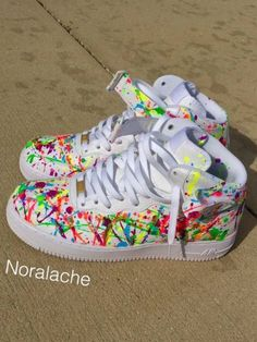 Nike Air Force One Jawbreaker High by BeeziCustoms on Etsy