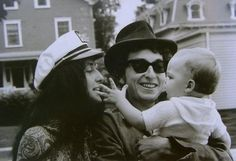 Joan Baez and Bob Dylan at Rhode Island, 1964.