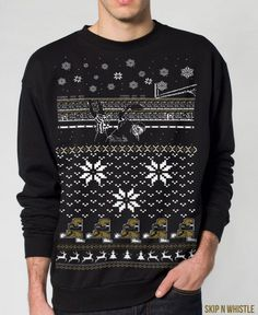 Who Dat Ugly Christmas Sweater
