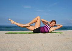 Pilates moves for bikini abs