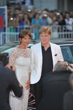 "Robert Redford, Sibylle Szaggars - 69th Annual Venice Film Festival - ""The Company You Keep"" Premiere - Arrivals - Palazzo del Cinema - Venice, Italy © Away! / PR Photos"