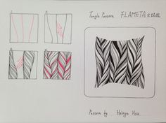 tangle pattern flameta by hoinya hou