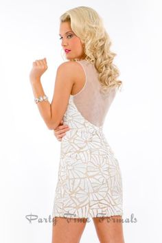 Party Time Gown 6307 Prom Dress - PromDressShop.com