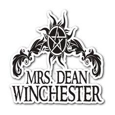 Mrs. Dean Winchester - Sticker