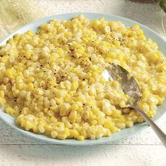 Creamed Corn with Shallots - Recipe - FineCooking