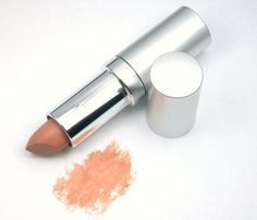 Just Pure Minerals Lipstick in Capri is a vegan dupe for Maybelline's My Mahogany