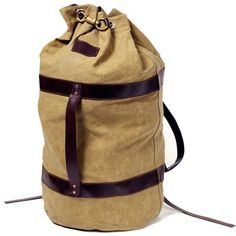 Duffle that will just look better and better.