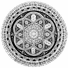 MANDALAS Mandala Design, Mandala Art, Zentangle Patterns, Zentangles, Leaf Stencil, Shiva Statue, Doodle Inspiration, Mandala Coloring Pages, Henna Tattoo Designs