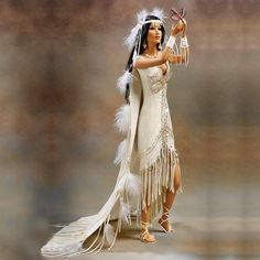 Love takes wings, bride doll