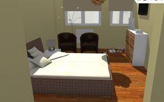 VIV.B vista de dormitorio desde vestidor