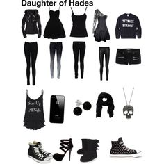 Daughter of Hades made by Harper Barbour on Polyvore,teenagedream3435