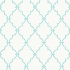 Refinish cabinets, create an accent wall, or highlight bookshelves with this captivating wallpaper. Showcasing a quatrefoil motif, this versatile design adds...