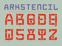 arkstencil by rené knip