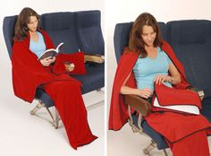 Blog post at Spot Cool Stuff: Travel : What's the best blanket you can have on an airplane? Hint: It isn't the blanket the airlines lend to you. Or, used to lend to you. Severa[..]