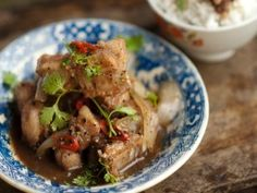 Pork Ribs Braised In Young Coconut Juice: Suon Ram Man : Recipes : Cooking Channel. Luke Nguyen