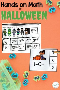 Get everything you need to teach reading, math, comprehension and language skills with one purchase at a DOSCOUNTED PRICE! This school year is difficult enough without adding Halloween excitement on top of it. These hands on tasks and activities will help you plan with ease while keeping your students engaged. Click if you work with autism classes, early or emergent readers, speech therapy, life skills classes and other self-contained programs. Great for kindergarten, too!