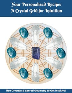 Want a Customized Crystal Grid Recipe Created Just for You? This quick (& fun!) online quiz will ask you a few questions in order to generate a completely customized crystal grid recipe based on exactly what you need in your life right now! Use your intuition to answer each question. At the end of the quiz, you'll have access to your personalized crystal grid recipe and our FREE 7-page e-Book (including a description of how the grid can help you, a downloadable grid template, instructions...