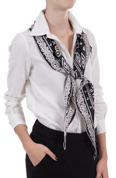 @JANE CARR The Pearly King Scarf (more colors available!) $205.00 #scarves #silkscarf #giftideas #giftguide #giftsforher